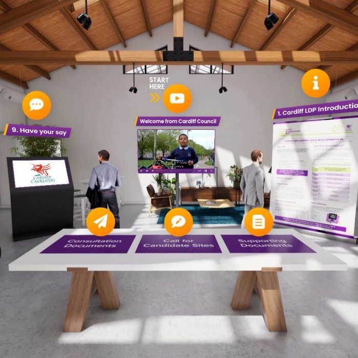 Virtual consultation room
